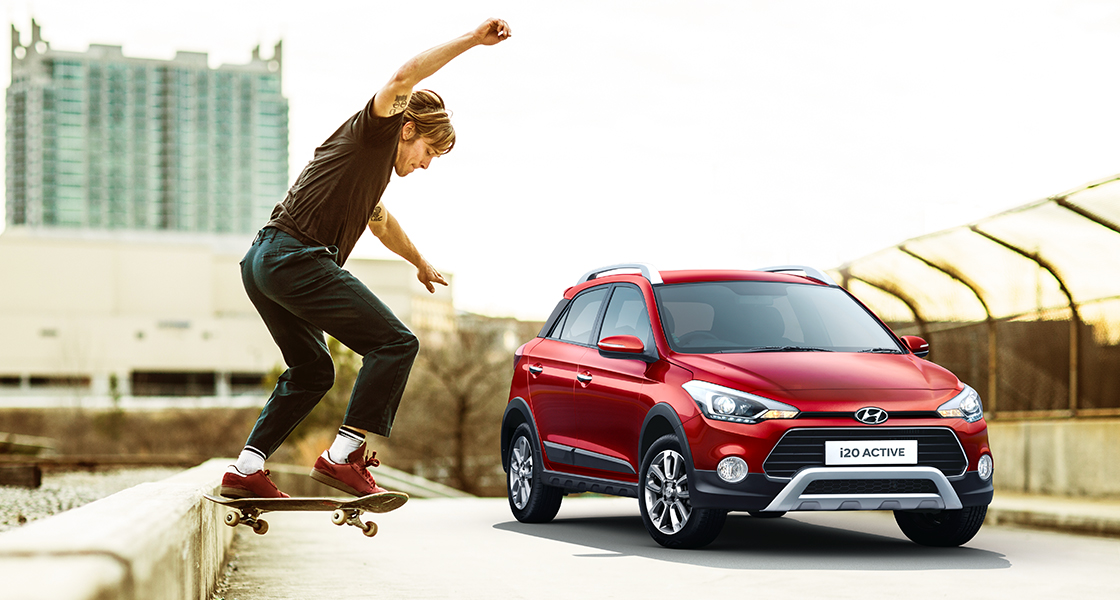 Hyundai i20 Active Car Gallery